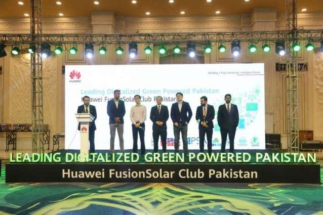 Huawei Digitizes Green Powered Pakistan with FusionSolar Club Pakistan