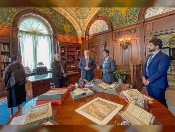 """""""الشارقة للكتاب"""" تستعرض أبرز ملامح الثقافة العربية والإماراتية في """"مكتبة الكونغرس الأمريكي"""""""