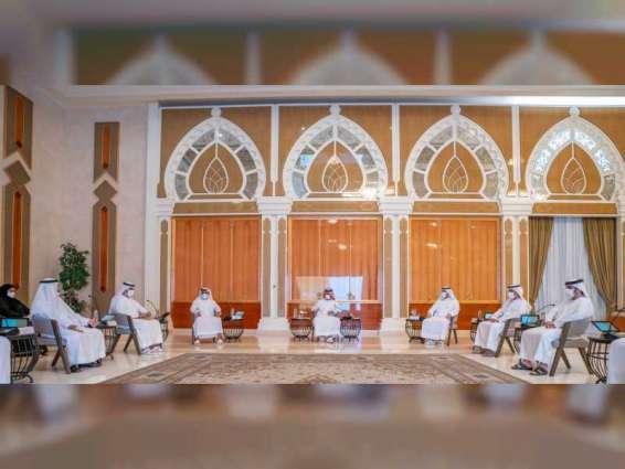 Ajman Executive Council reviews report on COVID-19 pandemic