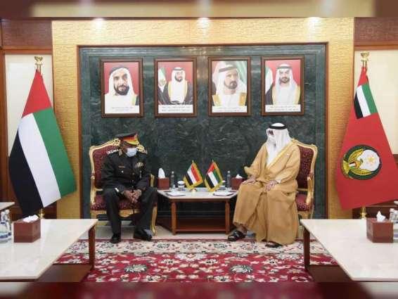 البواردي والرميثي يبحثان علاقات التعاون الدفاعي والعسكري مع السودان