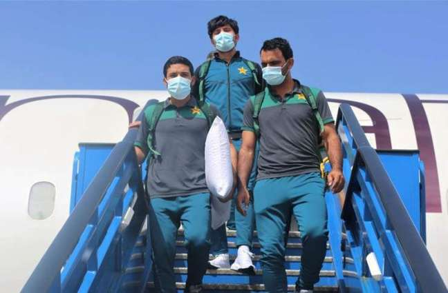 National men's cricket team arrives in Guyana for T20I series remainder