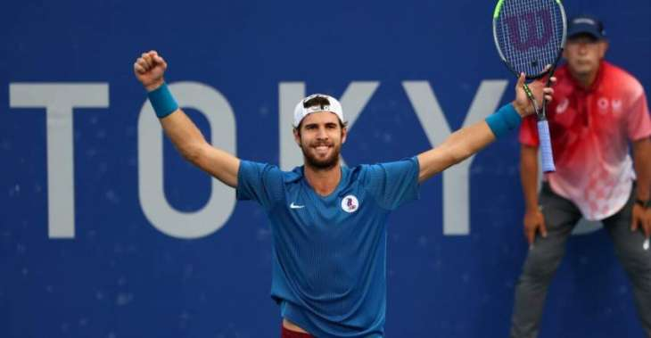 Russia's Tennis Player Khachanov Qualifies for Singles Final at Tokyo Olympics