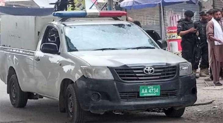 مقتل ضابط بشرطة اثر انفجار فی مدینة بشاور