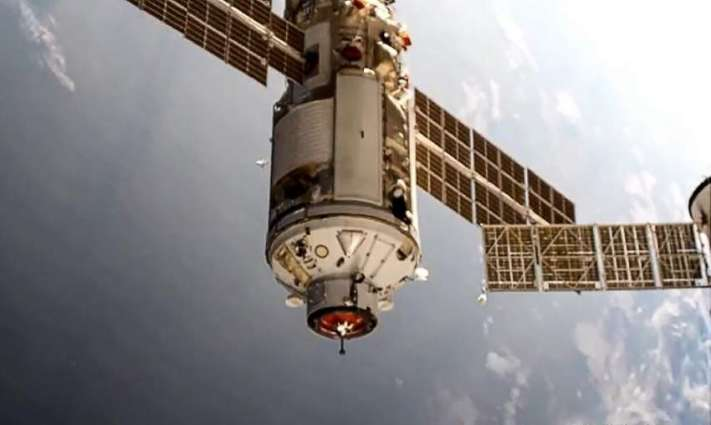 Cosmonauts Open Hatch to New Russian ISS Module Nauka First Time