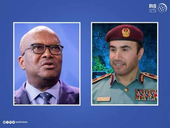Burkina Faso's President receives UAE's candidate for INTERPOL 's presidency