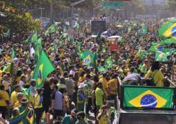 REVIEW - Pro-Bolsonaro Protesters Across Brazil Rally for Paper Ballots in 2022 Elections