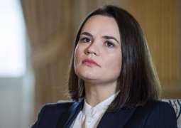 Tikhanovskaya Wants Tougher Sanctions Against Minsk, Will Ask Johnson For Support -Reports