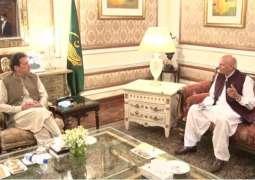 Punjab Governor calls on PM Imran Khan