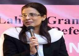 عائشة ملک ھي أول امرأة تتولی رئاسة القضاء فی باکستان