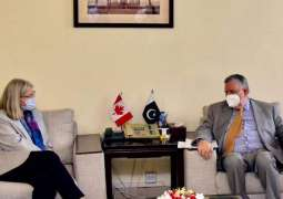 Shaukat Tarin stresses need to strengthen business, economic linkages with Canada