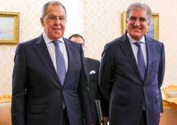 Top Pakistani Diplomat Says Discussed Afghanistan With Lavrov