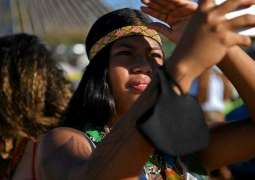 Brazil's Indigenous Peoples Set Up Protest Camp on Bolsonaro's Doorstep Against Legal Flaw