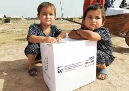 Region's largest food aid campaign distributes initial 100 Million Meals worldwide in just four months