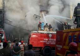 At least 13 labourers burnt to death due to fire inside the factory