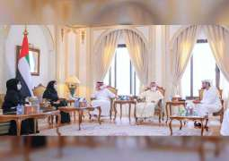 Ammar Al Nuaimi briefed about achievements of Ministry of Community Development