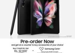 The power in the palms: Samsung Electronics announces pre-orders for much awaited Galaxy Z Fold3 and Z Flip3