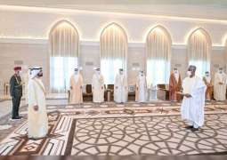 Mohammed bin Rashid receives credentials of new ambassadors to the UAE