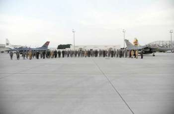 Egyptian Air Forces arrive in UAE for 'Zayed 3' military exercise