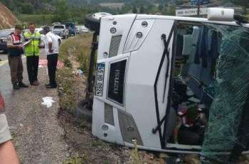Tour Operator Intourist Confirms Accident With Bus With Russian Tourists in Turkey