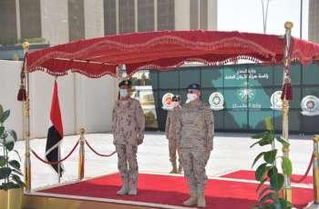 الرميثي يلتقي نظيره السعودي ويبحث آفاق التعاون العسكري بين البلدين