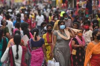 India reports 42,982 new coronavirus cases in last 24 hours