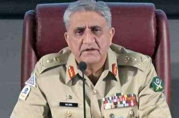COAS Bajwa calls for solution of Kashmir dispute as per UN Resolutions