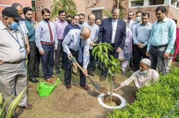 UVAS VC launched monsoon tree plantation Campaign to promote greenery under Prime Minister`s Green Pakistan Programme