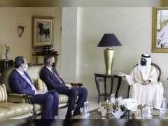 RAK Ruler receives Iraqi Ambassador