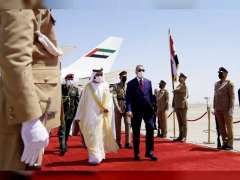 Mohammed bin Rashid arrives in Baghdad for Conference on Cooperation and Partnership
