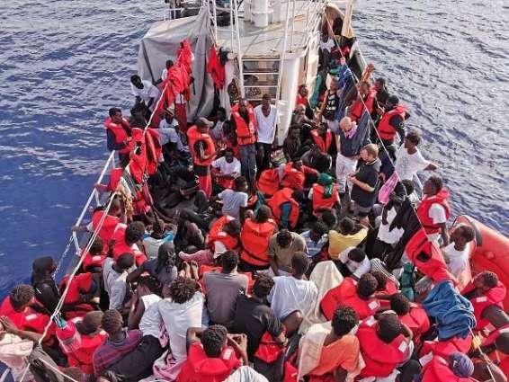 IOM Says 1,111 Migrants Rescued Off Libyan Coast During Last Week of July