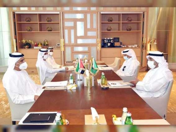 Obaid Al Tayer, GCC Secretary-General discuss GCC economic cooperation and integration