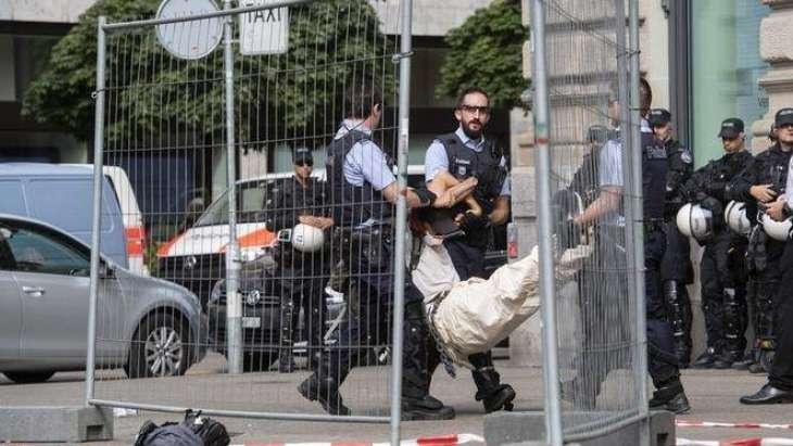Swiss Police Detain Over 80 Climate Activists at Sit-In Protest in Zurich