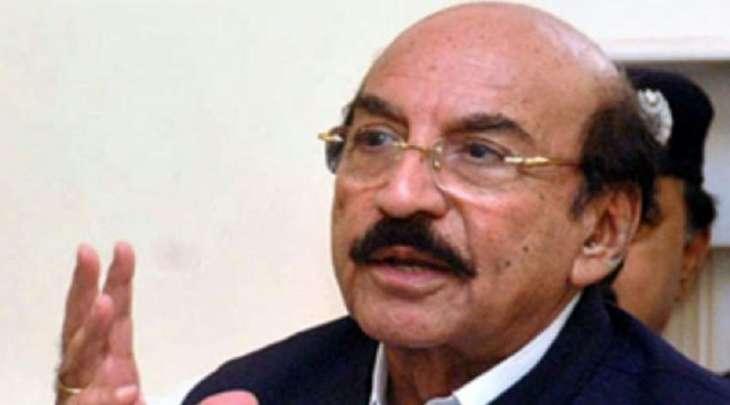 اصابة رئیس حکومة اقلیم السندہ السابق قائم علی شاہ بفیروس کورونا