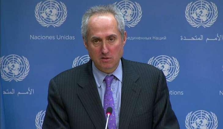 UN Has No Specific Data on Mercer Street Attack, Urges Avoiding Any Escalation - Spokesman