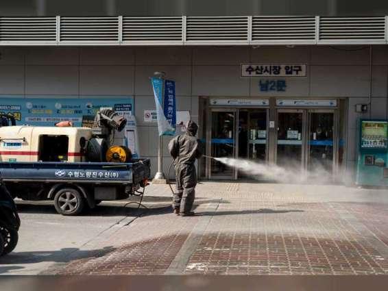 كوريا الجنوبية تسجل 1725 إصابة جديدة بكورونا