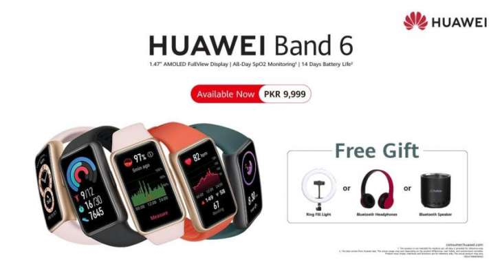 Your Next Best Buy – HUAWEI Band 6 Goes on Sale Nationwide