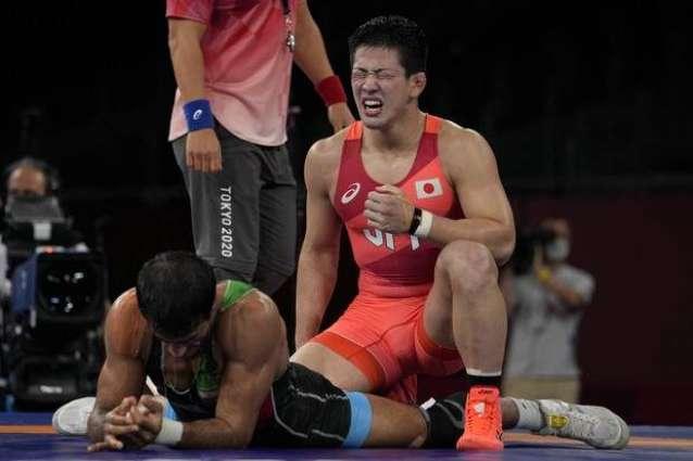 Iran's Geraei Wins Greco-Roman -67 Kg Olympic Gold