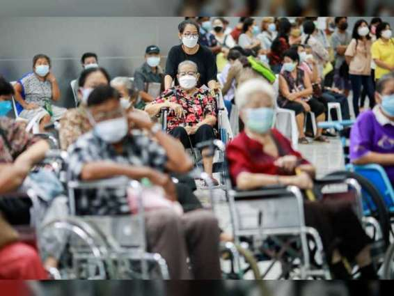 Thailand reports record 20,920 coronavirus cases in a day