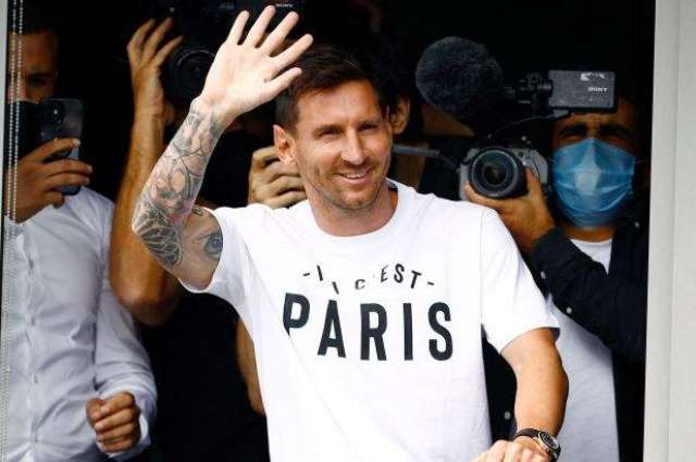 Messi Arrives in Paris, PSG to Hold Press Conference on Wednesday