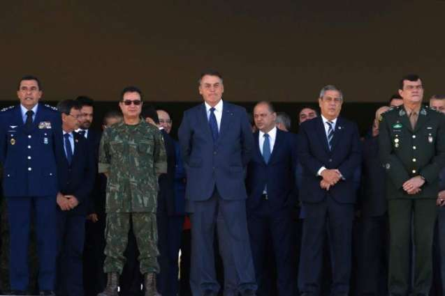 Bolsonaro Holds Military Parade as Lawmakers Set to Consider His Voting System Proposal