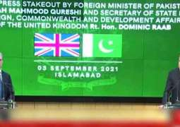 UK hints at possible engagement with new Taliban govt in Afghanistan