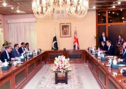 Pakistan, Britain reaffirm resolve to upgrade relationship