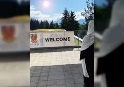 شما بنت محمد آل نهيان تزور مدرسة إيجلون بسويسرا