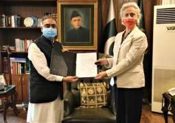 Accreditation Ceremony of Ms Florence as FAO Representative in Pakistan