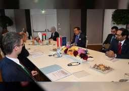 صقر غباش يبحث تعزيز علاقات التعاون البرلمانية مع رئيس المجلس الوطني النمساوي