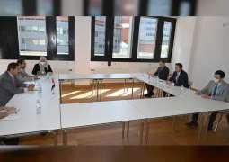 Saqr Ghobash, Georgian Parliament Speaker discuss parliamentary and economic cooperation