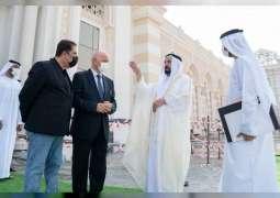 Sharjah Ruler inspects work progress in Khorfakkan University