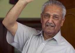 Health of Dr. Abdul Qadeer Khan improves: Family sources