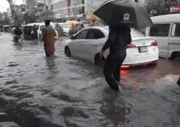 Heavy rain disrupts life in many parts of Lahore