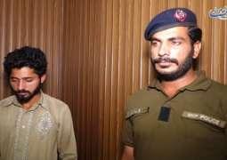 القبض علی شاب أشعل النار علی عشیقتھا و ألقاھا فی النھر بمدینة شیخوبورا